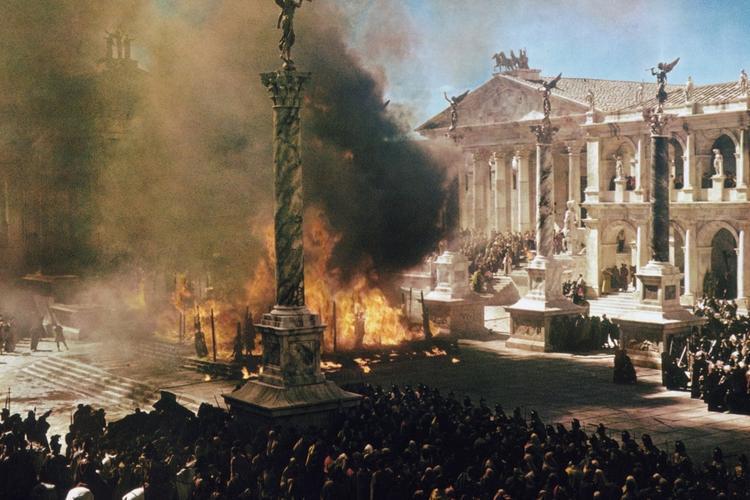 Кадр из фильма «Падение Римской империи»1964 года