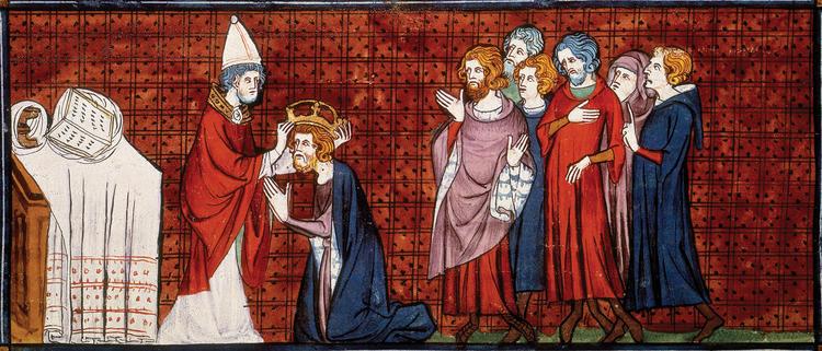 Коронация Карла Великого Папой в Риме