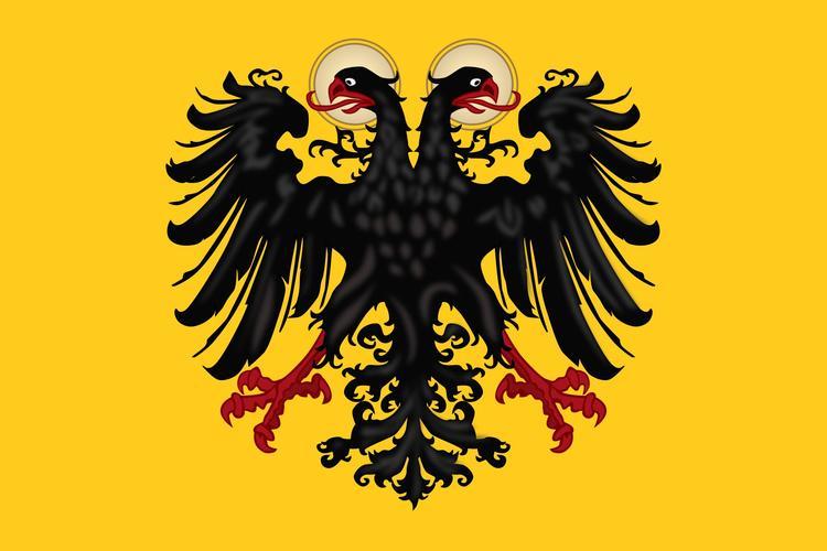 Так выглядел долгое время флаг Священной Римской империи