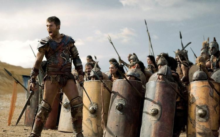 Самое известное восстание рабов — восстание Спартака (кадр из сериала «Спартак: кровь и песок»)