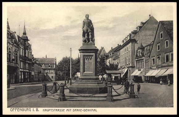 Памятник Фрэнсису Дрейку с картофелем (к сожалению, не сохранился до наших дней)