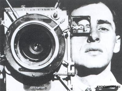 Дзига Вертов, режиссер, сценарист и теоретик кино