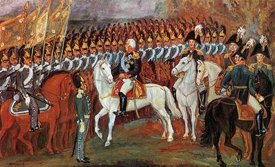 В 1812 году русская и французская армии провели в подготовке к предстоящему генеральному сражению