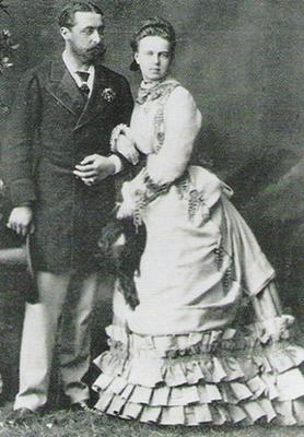 Свадьба княгини Марии и принца Альфреда