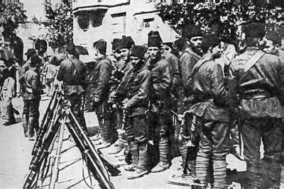 Турция вступила в Первую мировую войну на стороне Германии