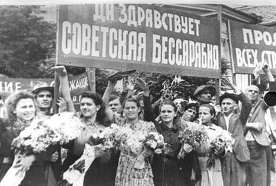 В 1940 году власти Румынии дали согласие на занятие Красной армией территории Бессарабии и Северной Буковины
