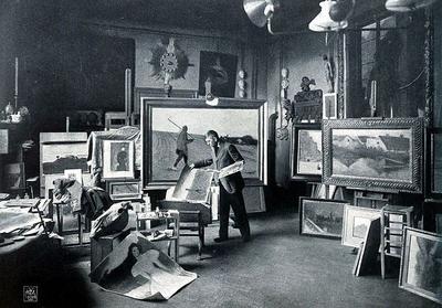 В 1874 году в Париже открылась первая выставка произведений художников-импрессионистов