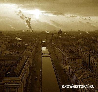 Новая столица -Санкт-Петербург
