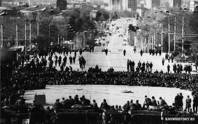 Массовые беспорядки в Душанбе