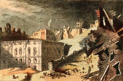 В 1755 году природной стихией была стерта с лица земли столица Португалии
