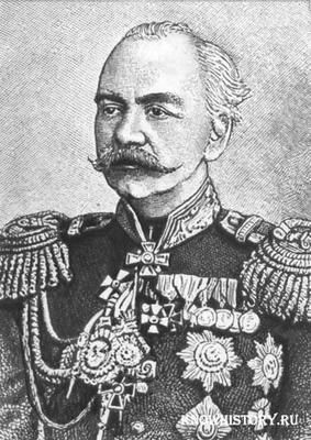 Покоритель Средней Азии и первый туркестанский генерал-губернатор, Константин Петрович Кауфман