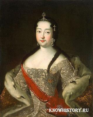 Портрет Анны Петровны