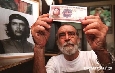 В 1960 году фотографАльберто Диас Гутьеррес сделал снимок Че Гевары