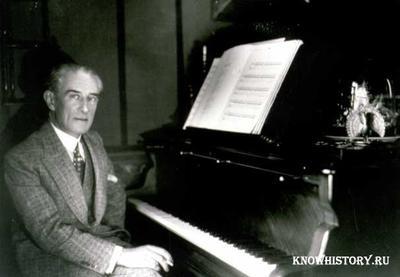 Французский композитор Морис Равель