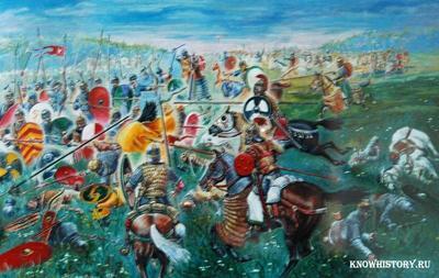 В 971 году византийский император Иоанн Цимисхий напал на город Доростол на Дунае