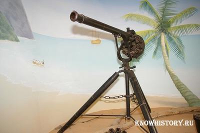 В 1720 году Джеймс Пакл получил патент на пулемет