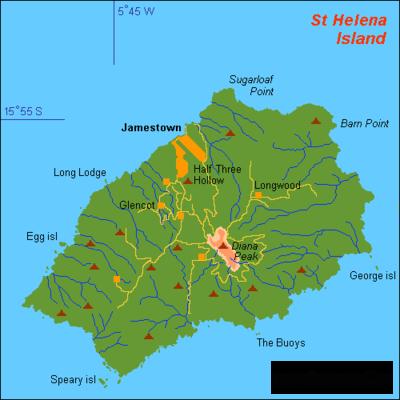 В 1502 году испанский мореплаватель Жуан да Нова открыл остров Святой Елены в Южной Атлантике