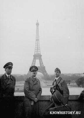 В 1940 году немецкими войсками был взят Париж