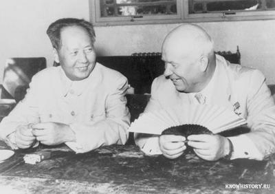 В 1960 году произошел официальный разрыв отношений между Советским Союзом и Китаем