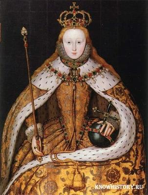 17 ноября в 1558 году на английский престол взошла Елизавета Первая