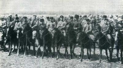 17 ноября в 1919 году на базе конного корпуса Семена Буденного была создана 1-ая Конная армия