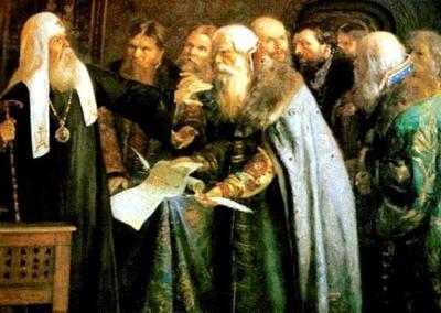 18 ноября в 1917 году в России восстановили патриаршество