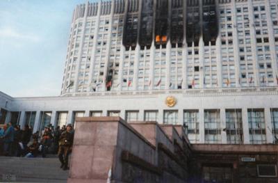 завершилось двухнедельное вооруженное противостояние ветвей власти в России