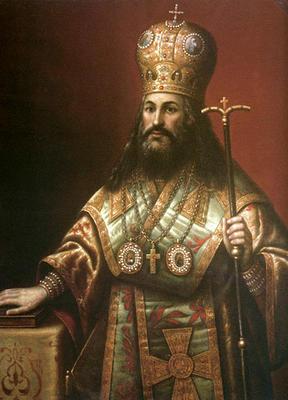 портрет патриарха Никона
