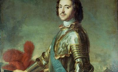 портрет Петра Первого