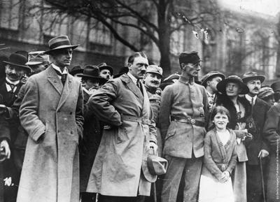 В 1923 году в Мюнхене произошел так называемый «пивной» путч