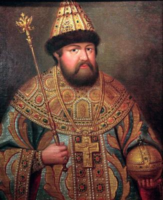 Алексей Михайлович. Сын Михаила Фёдоровича и его второй жены Евдокии.