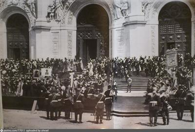 В 1883 году состоялось освящение храма Христа Спасителя