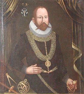 портрет Тихо Браге