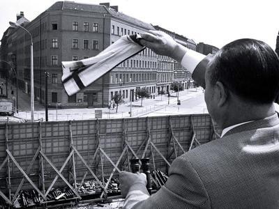 строительство Берлинской стены