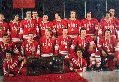 В 1981 году сборная СССР по хоккею впервые в истории выиграла Кубок Канады