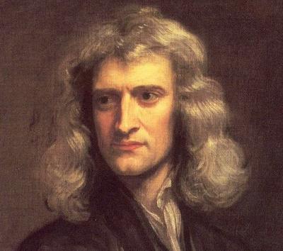 портрет Исаака Ньютона