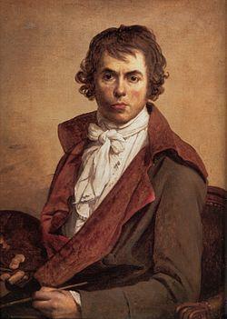 портрет Жак Луи Давида
