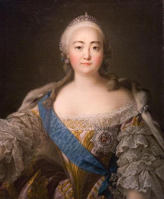 портрет Елизаветы Петровны