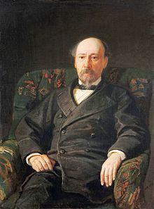 портрет Николая Некрасова