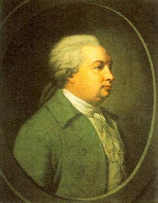 портрет Д.И. Фонвизина