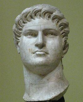 скульптура Клавдия Цезаря Нерона