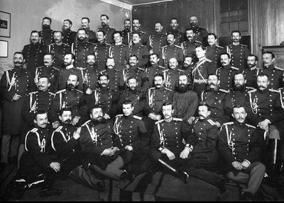 В 1827 году император Николай I издал указ об учреждении Корпуса жандармов