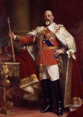 В 1908 году состоялся первый визит британского монарха в Россию