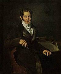 портрет Карла Ивановича Росси