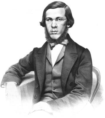 Литературный критик Николай Добролюбов