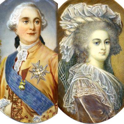 В 1770 году будущий король Людовик XVI женился на Марии Антуанетте