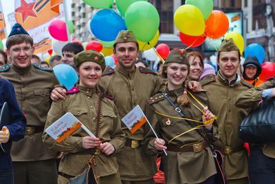 В 1945 году закончилась Великая Отечественная война