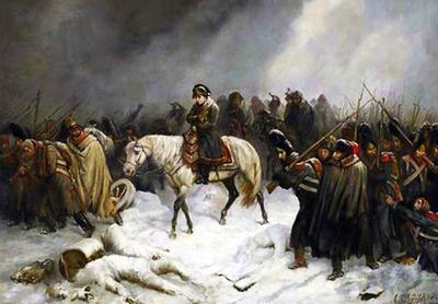 армия Наполеона вышла навстречу своей гибели.