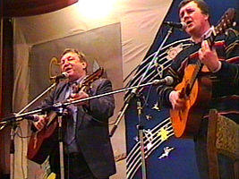Виктор Берковский (слева)