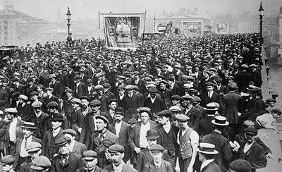 Массовые демонстрации в США